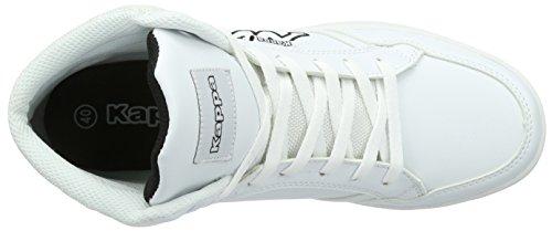 Kappa Forward, Baskets Basses Homme Blanc (White/black)
