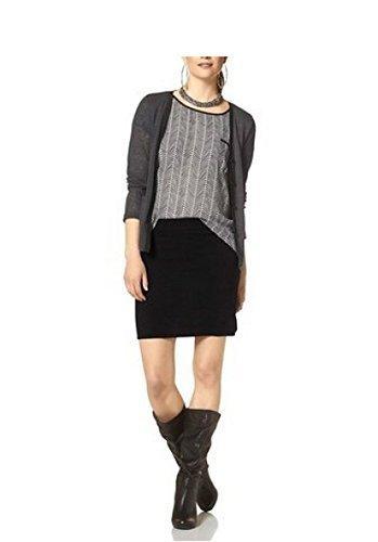 jupe jupe tricotée de chillytime en noir Noir