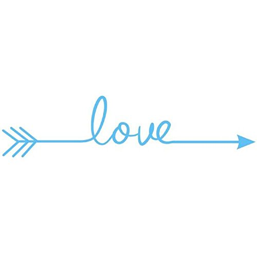 Vovotrade Semplice immagine Amore freccia decalcomania di