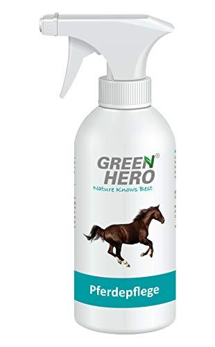 Green Hero Pferdepflege, 500 ml, Pflegt die Haut bei Sommerekzemen, Räude, Juckreiz, Entzündungen, Infektionen, Milben, Hefepilzen und Reizungen