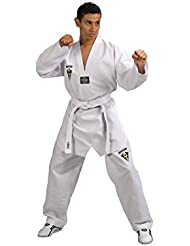 Kwon - Dobok Starfighter Kwon col blanc First sans marquage Taille - 150cm