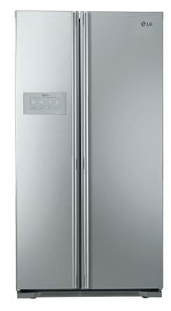 LG GS5164AEFZ Side-by-Side / A++ / Kühlen: 356 L / Gefrieren: 195 L / Brushed Steel / Fresh O Zone / LED Innenbeleuchtung