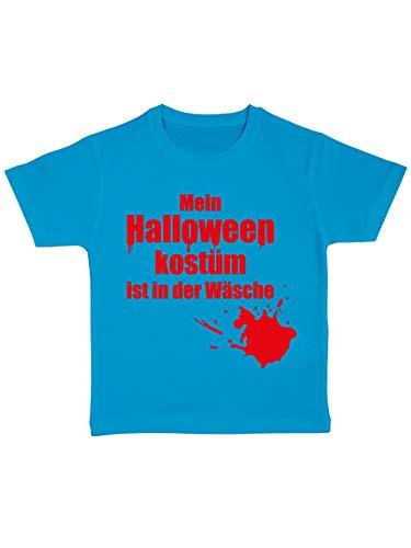 clothinx Kinder T-Shirt Bio Mein Halloween-Kostüm ist in der Wäsche Atoll Größe 128