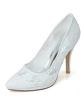 RTRY Donna Scarpe Matrimonio Scarpe Formali Net Primavera Estate Party Di Nozze &Amp; Sera Stiletto Heel Arrossendo...