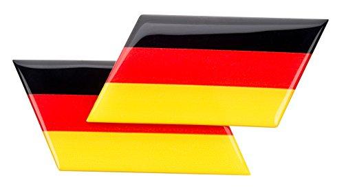 Preisvergleich Produktbild HR GRIP 3D Emblem Deutschland WM 2018 Edition [2er-Set | 45mm x 95mm x 2mm | selbstklebend] - 12111711