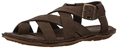 Woodland Men's Brown Leather Sandals and Floaters - 5 UK/India (39 EU)
