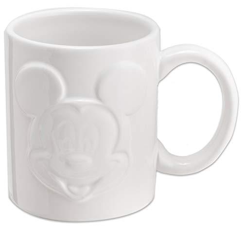 Joy Toy 62140Mickey Mouse Relief Taza 320ml, Blanco