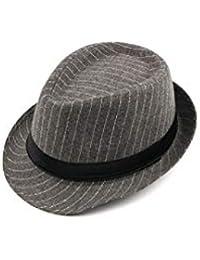 QARYYQ Cappello da Joker Casual da Uomo con Cappello da Jazz A Righe da  Uomo di f8b0c523be4d