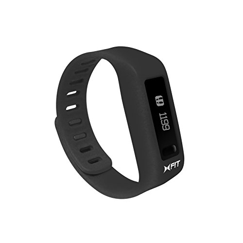 Xtreme Cables Xtreme Cables XFit Fitness Watch for Smartphones Retail Packaging Black