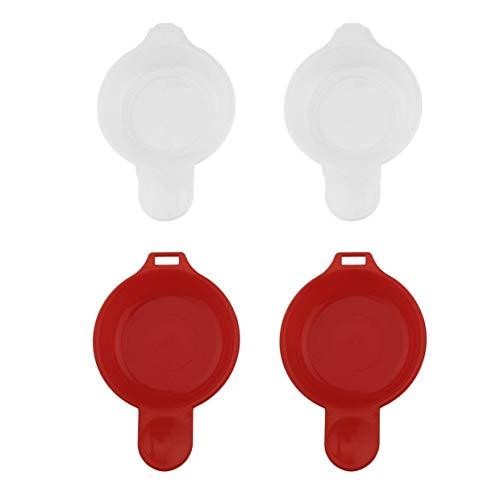 2er Set Mikrowelle für Eierkocher Omelettschüsselhersteller Omelett-Kochgeschirr kocht schnelle Minuten Pfannkuchenschale YAHALOU