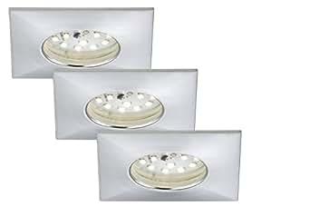 briloner leuchten 7205 039 led einbauleuchte einbaustrahler led strahler spots. Black Bedroom Furniture Sets. Home Design Ideas