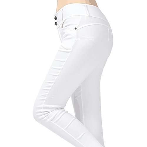 BAINA Damen Hose Skinny Röhre Push up Hose Stretch Slimfit Jeggings Leggings Stretch Röhrenjeans Jeans -
