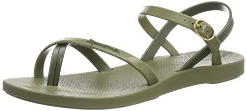 Ipanema Damen Fashion Sand VII FEM Slingback Sandalen, Grün Green 8550, 38 EU