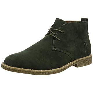 New Look Men's Alden Classic Boots, Green (Dark Green 38), 9 UK (43 EU)