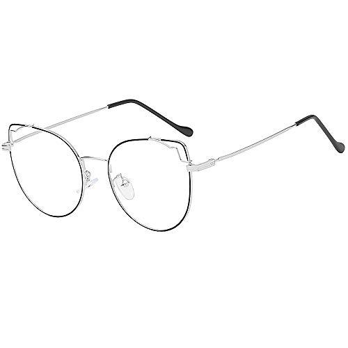 Whycat Brillenfassungen Herren Rahmenlos Lesebrille/Presbyopie-Brille, Blaulicht-Schutzbrille gegen Kopfschmerzen(C)