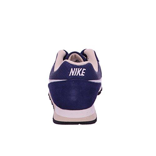 Nike Damen, Sneaker, MD Runner 2 blau - weiß