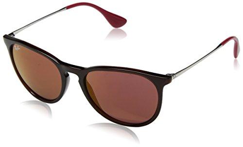 Ray-Ban Unisex-Erwachsene 0RB4171 6339D0 54 Sonnenbrille, Brown/Darkvioletmirrorred