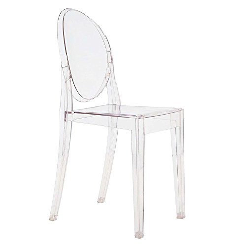 Kartell Victoria Ghost 4857 - Color: Transparent polycarbonate Crystal (B4/cristallo)