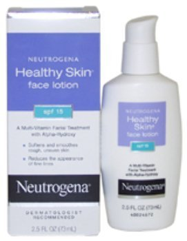 Unisex Neutrogena Healthy Skin Face Lotion Spf 15 Lotion 2.5 Oz *** Product Description: Unisex Neutrogena Healthy Skin Face Lotion Spf 15 Lotion 2.5 Oz2.5 Oz *** by BIMS