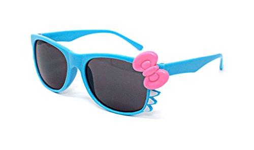 Ultra® Blau mit rosa Schleife niedlich Multi Color Kostüm spielen Cos spielen 3D-Brille für Kinder Kinder Objektiv Hase Herz Bogen Frames