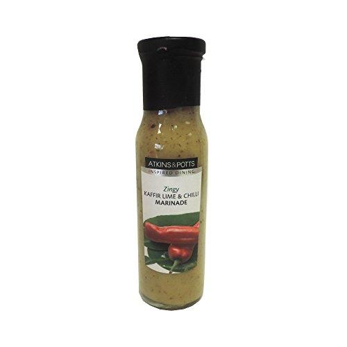 Atkins & Potts - Kaffir Lime & Chilli Marinade - 250g (Case of 6)