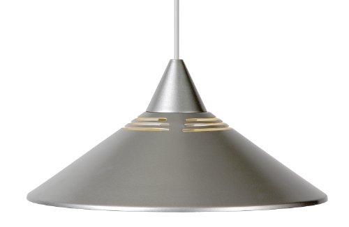 Lucide 16431/30/36 - Lampadario a sospensione in metallo 1 x E27, diametro: 34 cm, colore: Argento