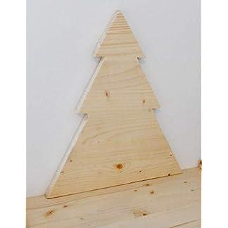 Árbol decorativo Navidad – en madera, decoración navidad artesanal