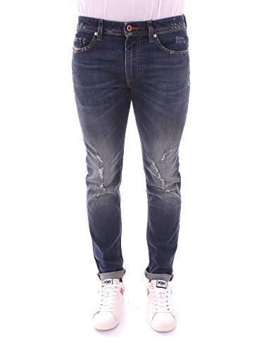 726dee97 Diesel TR, Jeans Straight Uomo, Blu (01 Blue Denim 084yy), W33