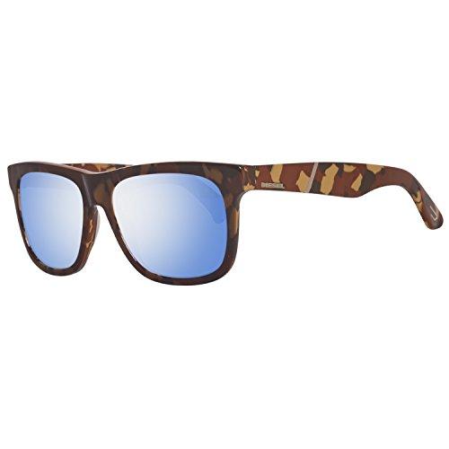 Diesel sonnenbrille dl0116 5444x occhiali da sole, marrone (braun), 54 unisex-adulto