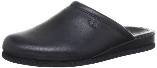 Romika Carlo 01 75101, Pantofole donna Nero (Schwarz (schwarz 100))