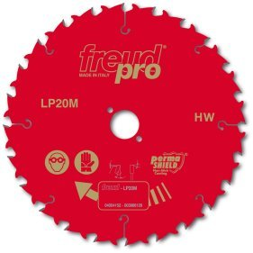 FREUD PRO LP20M 025 TCT Circular Saw Blade - 250mm x 30mm - 24T