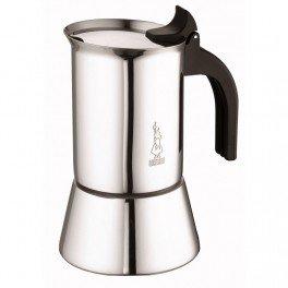 Bialetti Venus Elegance Cafetera Moka, capacidad de 10tazas, para todo tipo de cocinas, incluidas las vitrocerámicas de inducción