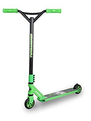 Stunt Scooter Street Pro Kick/Push 360 Spin Tricks Edition (Model - Empire (Green))
