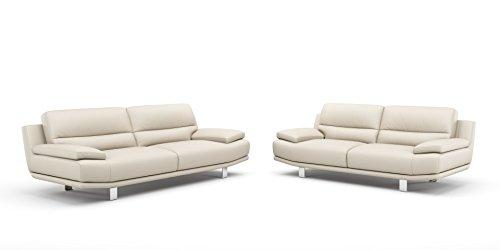 Leder Sofa Couch 2-Sitzer Designer Polstergarnitur Sitzgruppe Couchgarnitur - 3