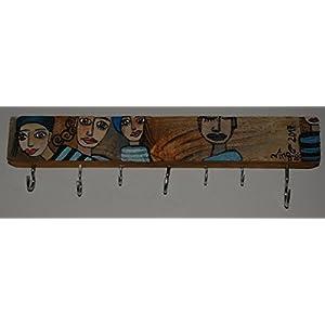 Wandhaken aus alten Holz, Garderobe, Schlüsselbrett, Regal, Frauen, Original
