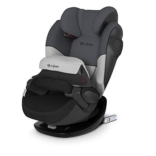 Cybex Seggiolino Auto 2 In 1 per Bambini Pallas M-Fix, per auto con e Senza Isofix, Gruppo 1/2/3 (9-36 kg), Collezione Colori 2019, Gray Rabbit