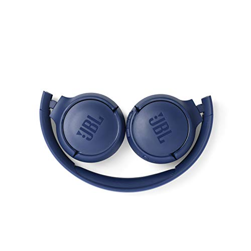 JBL Tune 500BT Powerful Bass Wireless On-Ear Headphones with Mic (Blue) Image 7