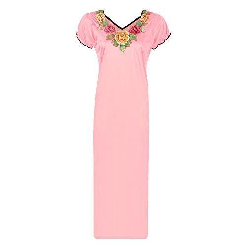 The Orange Tags -  Camicia da notte  - Donna Baby Pink