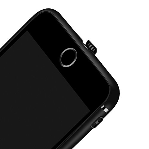 Custodia iPhone 7, Yoowei® iPhone 7 Cover Alta Qualità Estremamente Sottile Morbido TPU Gel Case Cover Anti-Graffio Antiurto per iPhone 7 4.7, Rosso Black