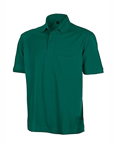 Apex Polo Shirt Bottle Green