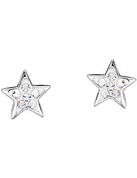 Jo for Girls Kinder-Ohrstecker Sterling-Silber 925 Glaskristall CE42SP