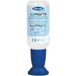 250ml Gramm Solución con biophos® 74Gramm Botella lavaojos Química ácidos lejías–Hasta 2020lagerfähig