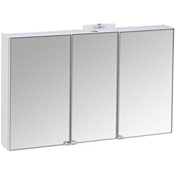 Spiegelschrank alibert delta 3t rig mit licht for Amazon spiegelschrank