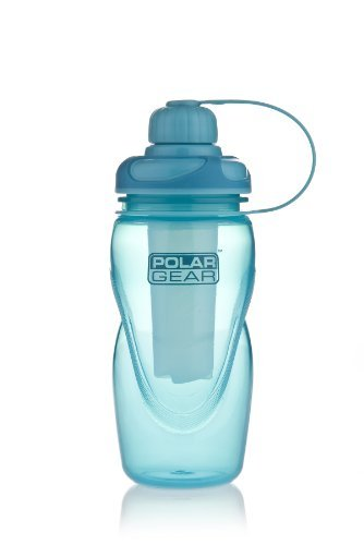 Polar Gear 450ml Hydro Bottle with Ice Stick Turquoise by Polar - Hydro-stick