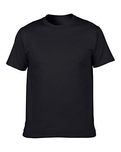 GLD Camiseta de Verano para Hombres Camiseta Blanca/Azul/café/Gris/Rosa/Beige...