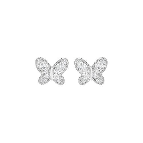Swarovski campo farfalla trafitto-bianco-5253267