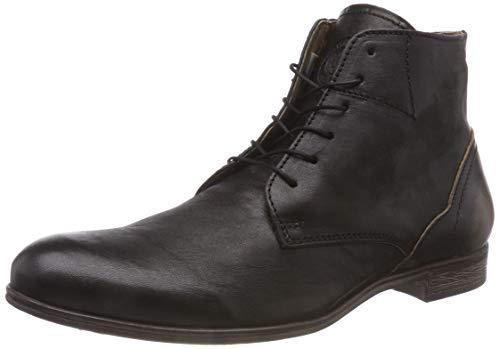 SNEAKY STEVE CRASHER Mens Cognac Leather Chukka Boots