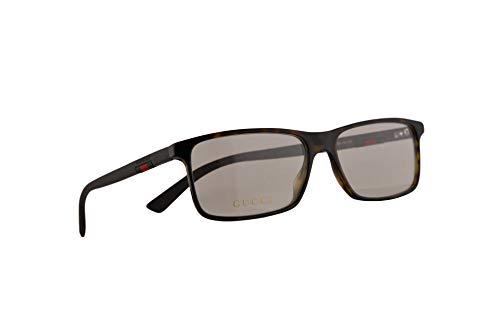 Gucci GG0424O Brillen 58-16-145 Havana Braun Mit Demonstrationsgläsern 006 GG 0424O