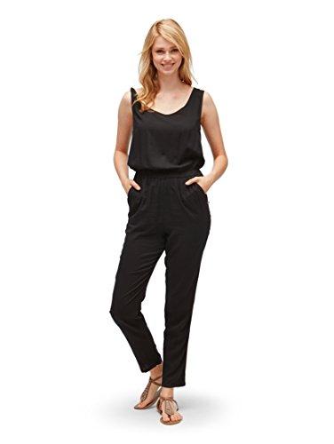 TOM TAILOR Denim für Frauen Overalls & Jumpsuits Ärmelloser Jumpsuit Black, XS