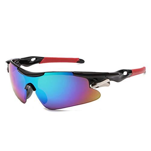 ZKAMUYLC SonnenbrilleMänner Frauen Radfahren Brille Outdoor Sport Mountainbike MTB Fahrrad Brille Motorrad Sonnenbrille
